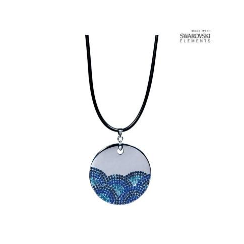 水纹 水晶项链1