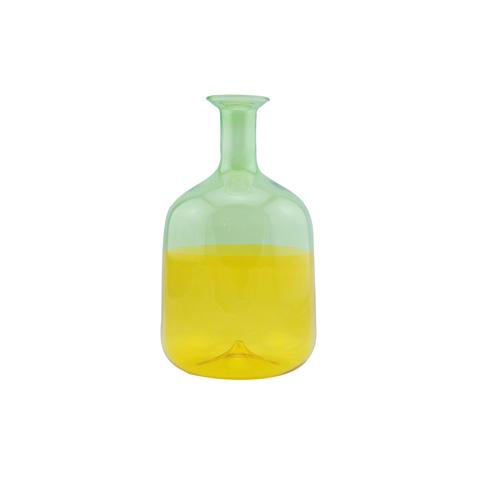 双色玻璃瓶 HP211P two-coloured glass bottle (large)