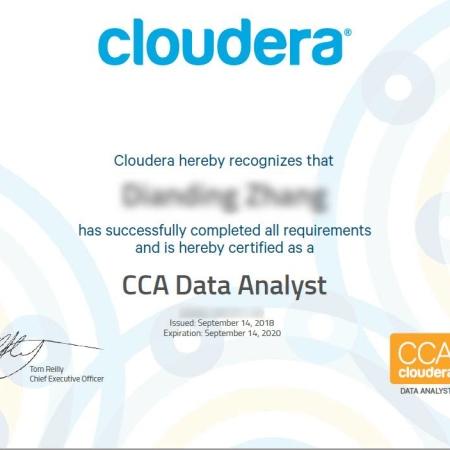 CCA159 认证