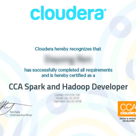 CCA175 认证