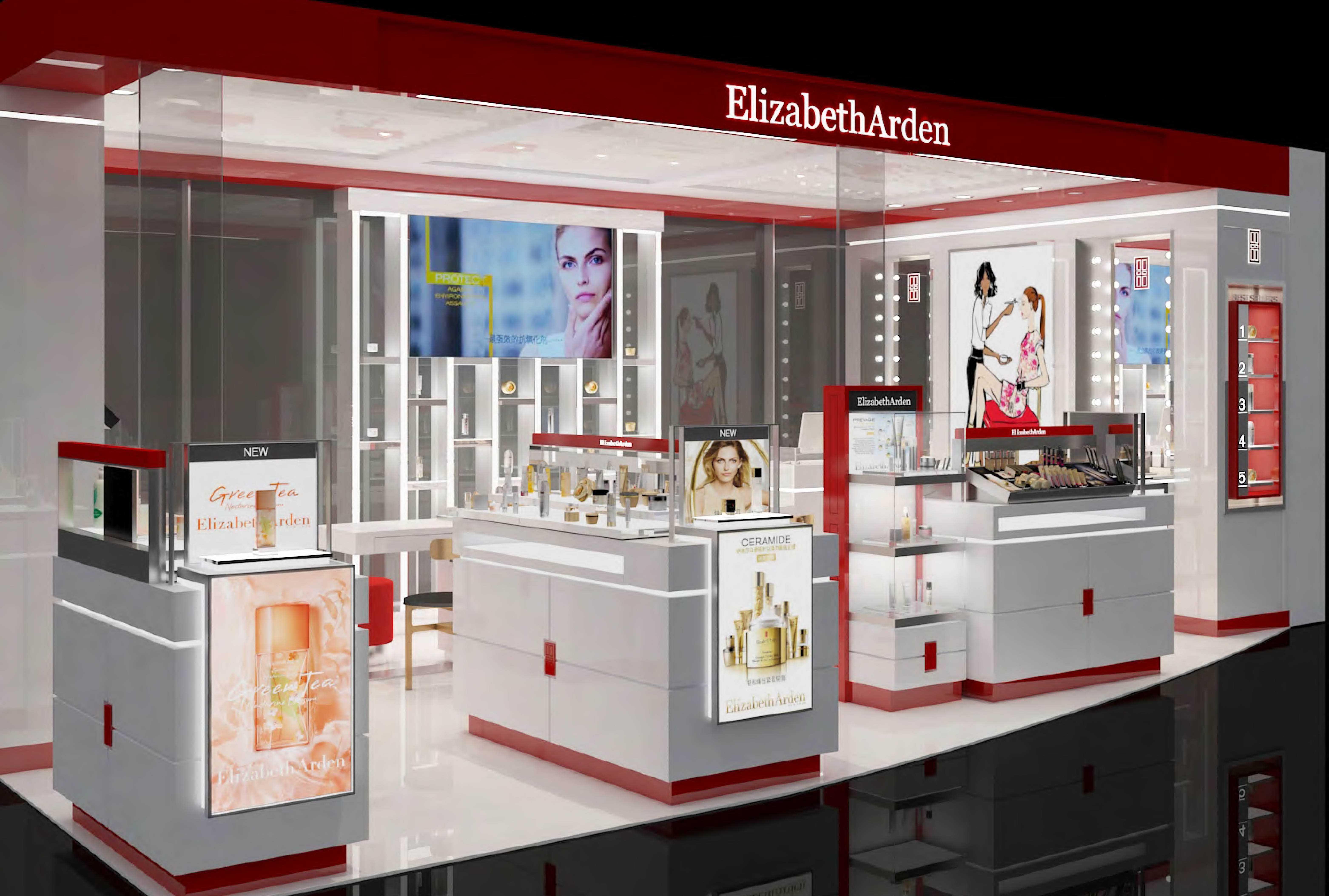 彩妆柜台设计