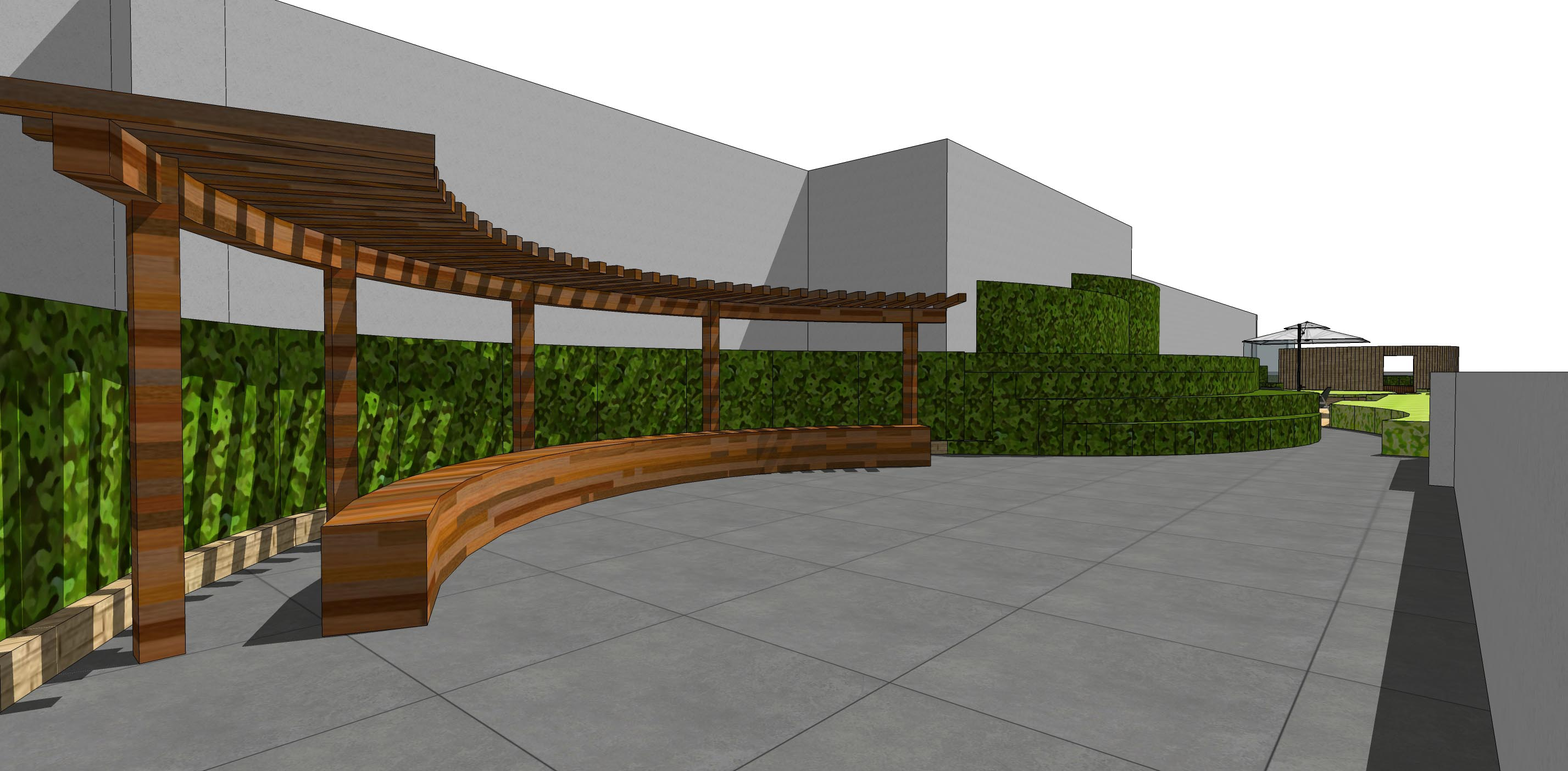 房顶花园设计