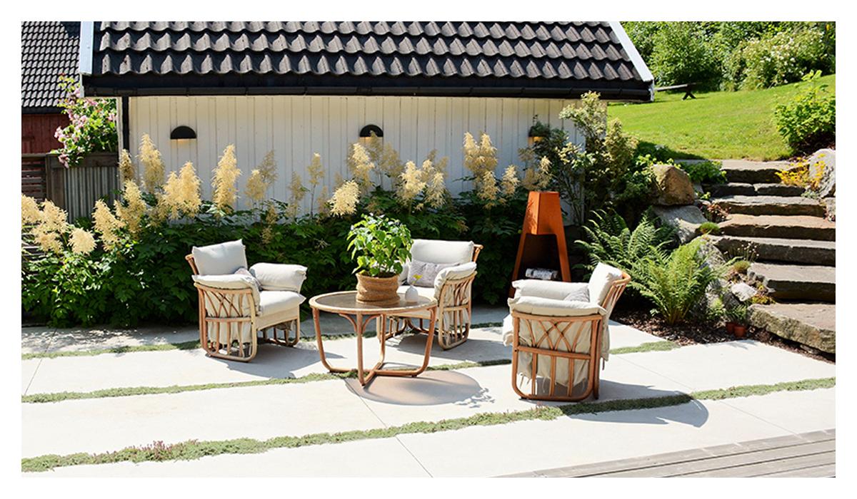 如何把别墅庭院设计的简单大方?
