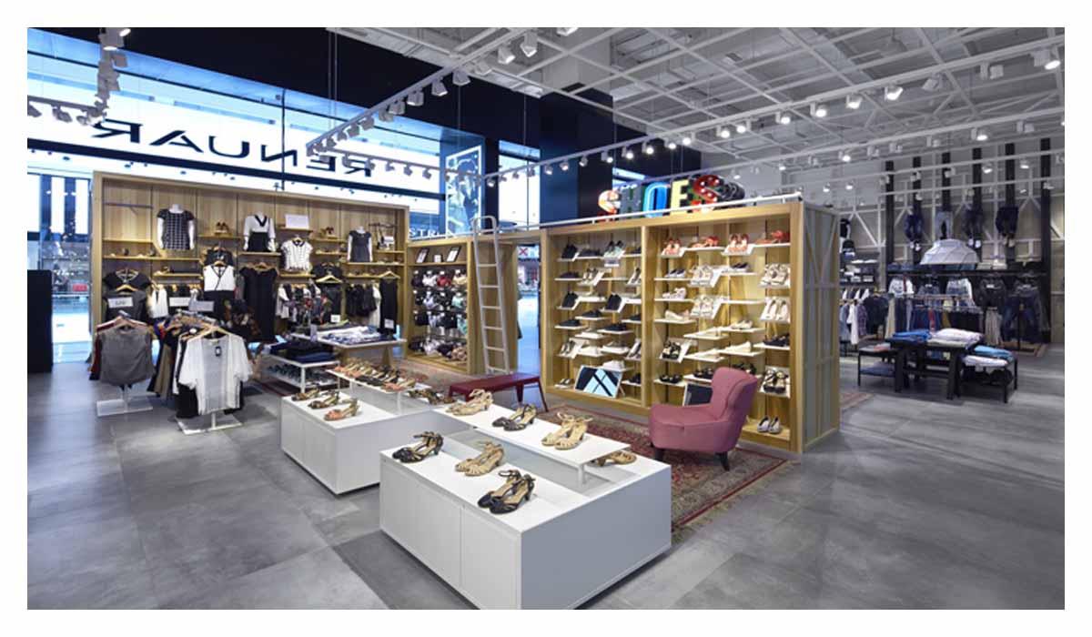 鞋类店面设计的要点