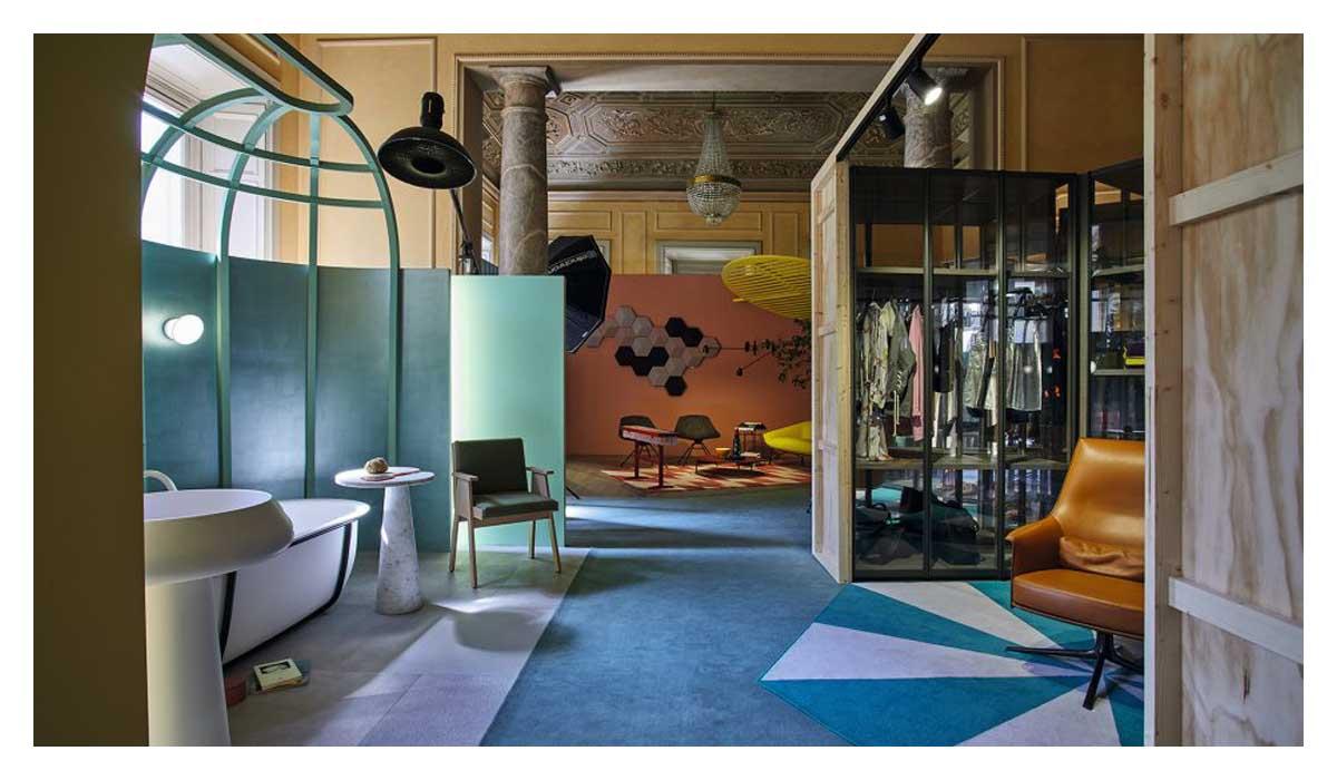 展示空间设计中的平面构成的概念和构成形式