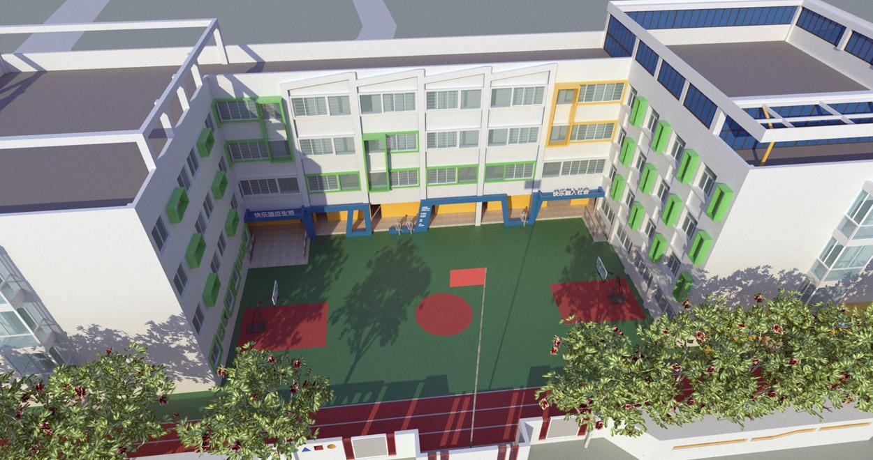 校园建筑外观改造设计
