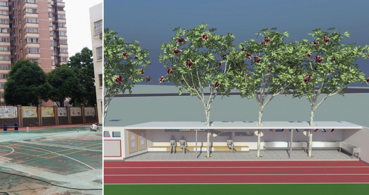 校园建筑装饰设计