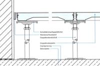智慧通防静电地板结构图