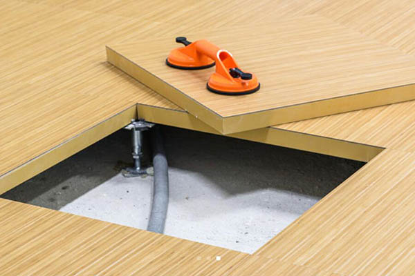 智慧通木基防静电地板
