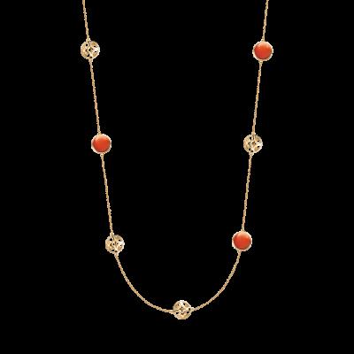 Soiree Collection 18K黄金 多玛瑙长链 13999