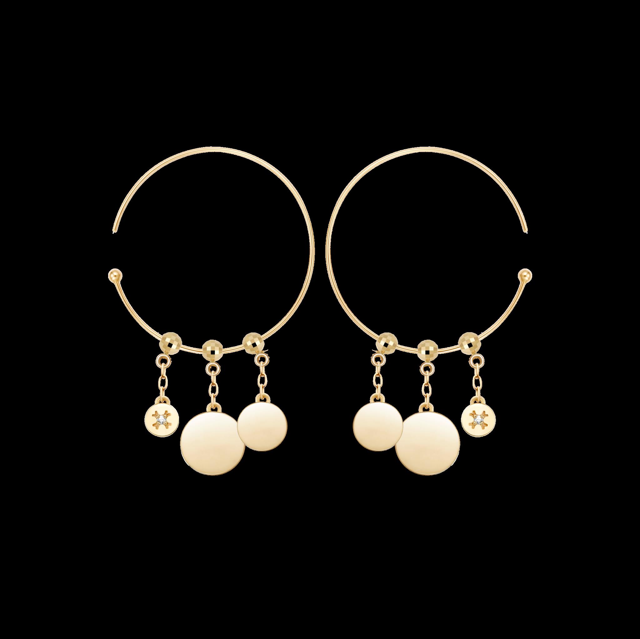 圆片-耳环