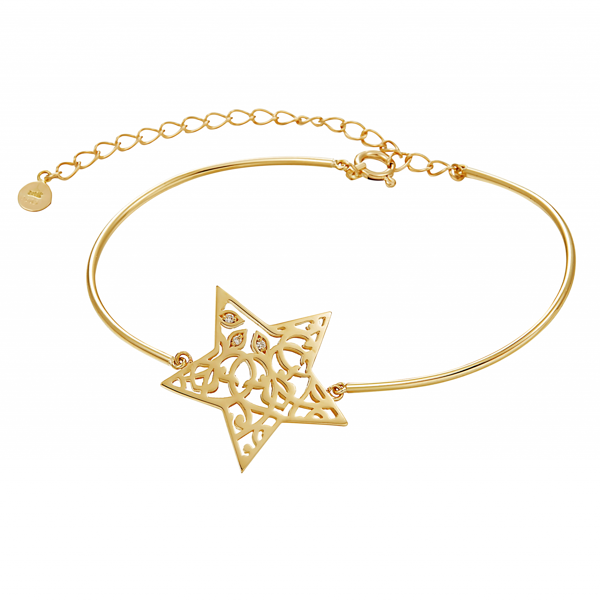 Star of Bethlehem Collection 18K黄金手链 9999