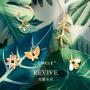 CIRCLE日本珠宝 18k金珐琅树叶项链 自然系列个性吊坠女