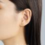 新品 CIRCLE珠宝 18K金海洋系列耳钉女镶钻多种造型海星 灵动自然