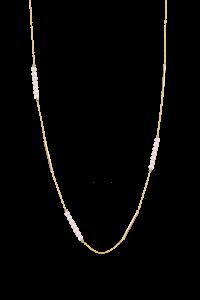 Rosee du Matin Collection 9K金珍珠长项链 ¥5399