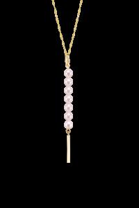 Rosee du Matin Collection 9K金珍珠项链(竖款)¥2699