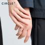 【新品】CIRCLE珠宝Bee系列铂金拍翅男女对戒个性戒指