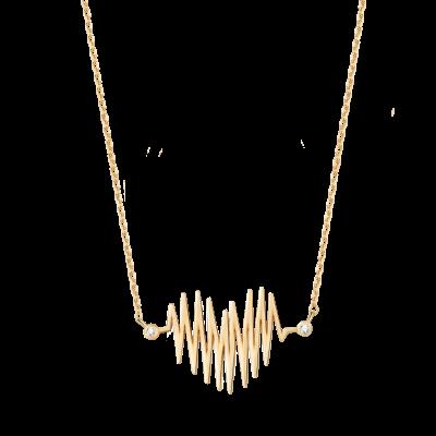 Heartbeat Collection 10K金 心跳项链 2999
