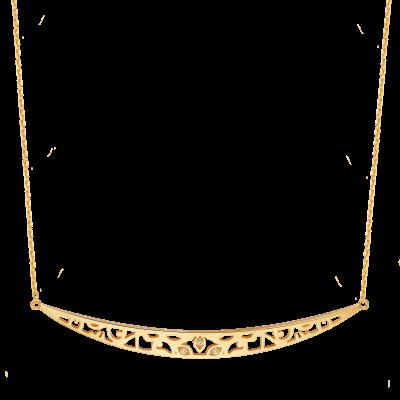 Star of Bethlehem Collection 18K黄金项链-2 8199