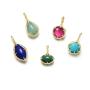 【新品】CIRCLE日本珠宝 祖母绿天然宝石吊坠 斓系列搭配项链女