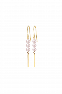 Rosee du Matin Collection 9K金珍珠耳环 ¥1999