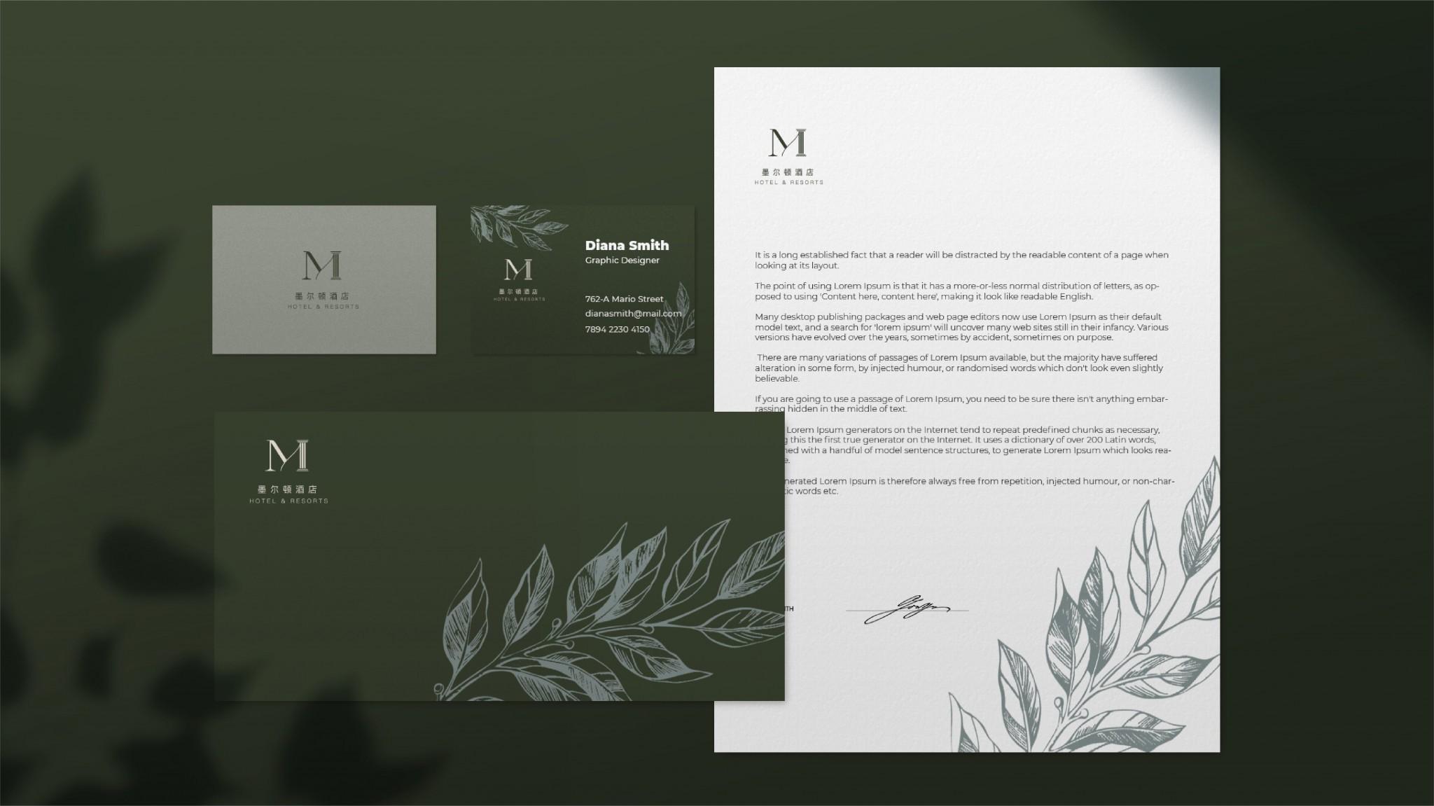 度假酒店品牌设计-墨尔顿f5a64b8ccad25034d119a740597e1433