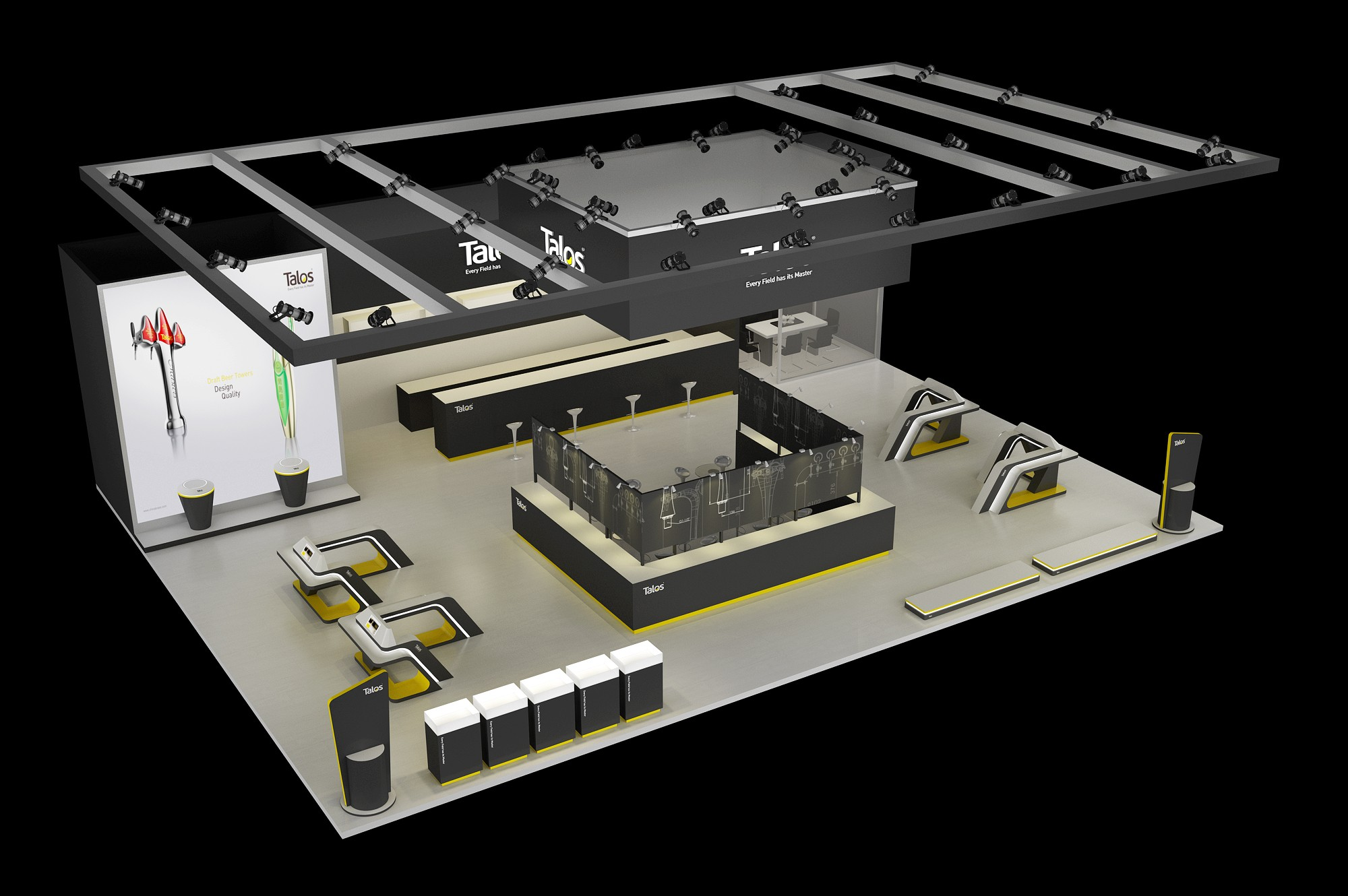 工业品品牌展览展厅设计-塔罗斯5e4aee9c5afaba74cf7eeedc3bd41c42