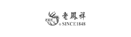老凤祥logo黑白