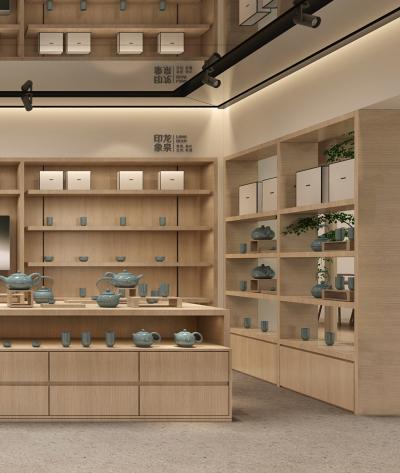 龙泉青瓷-产品展厅空间设计