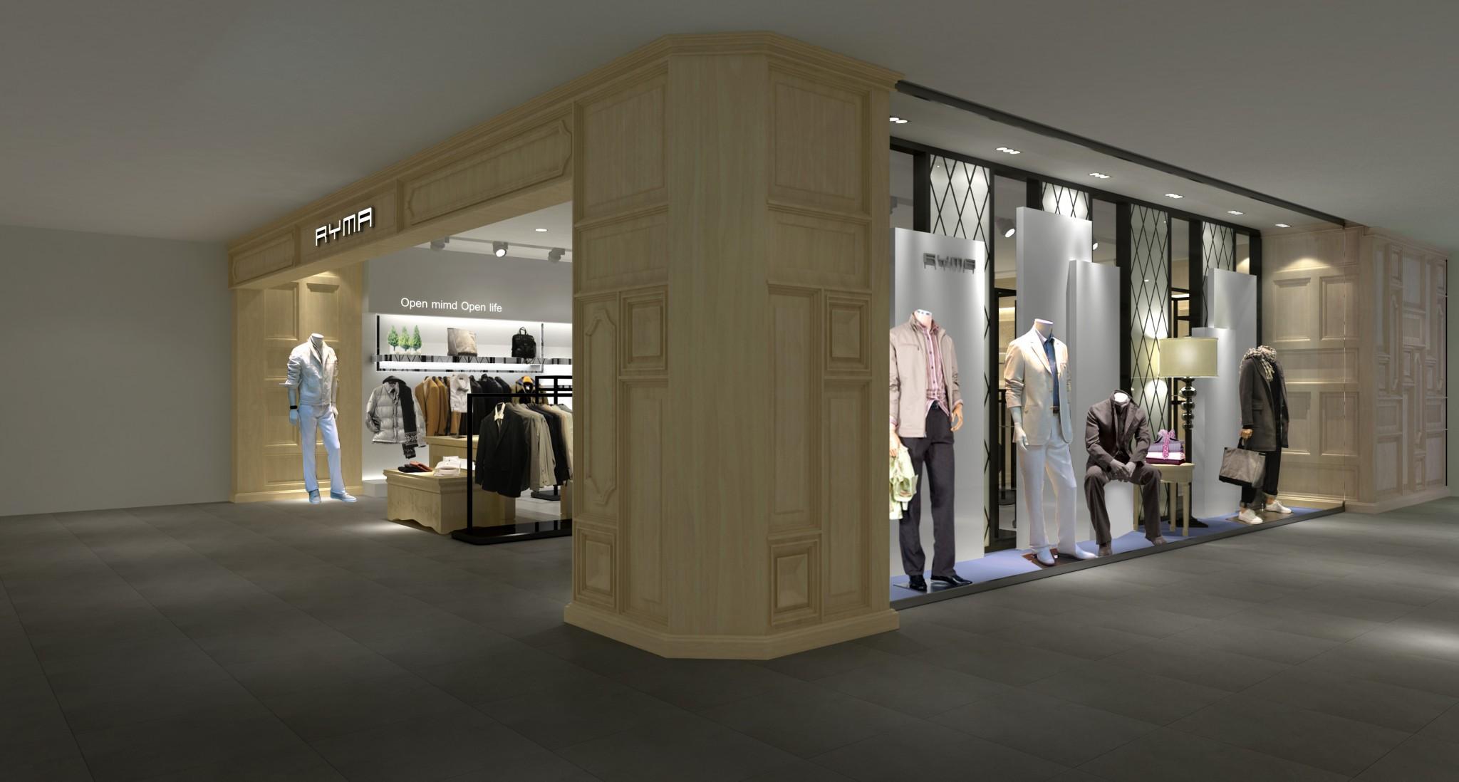 太子龙集团瑞玛服饰-新零售空间设计-杭州达岸品牌策划设计公司