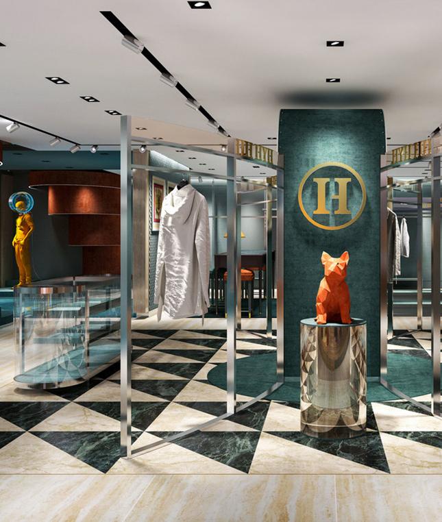 新零售空间设计-服装店设计-杭州达岸品牌策划设计公司