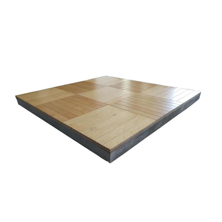 实木硫酸钙地板
