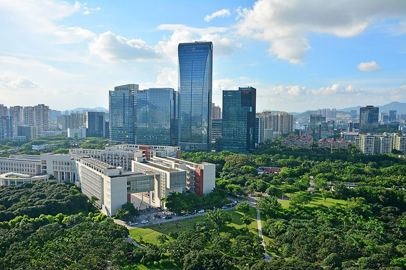 腾讯大厦网络地板