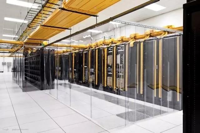 数据机房上线槽走线方式