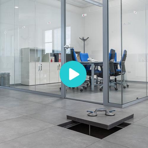 防静电架空地板安装