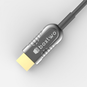 一体式光纤线HDMI俯视1