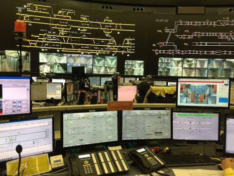 大屏控制室