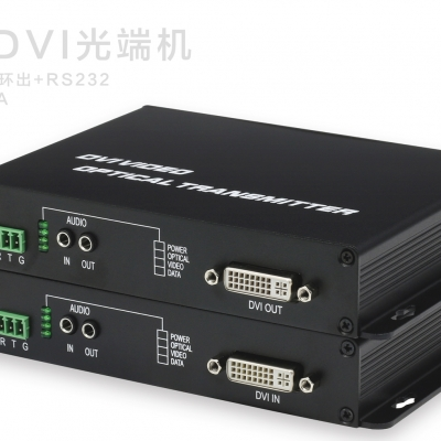 1路DVI光端机1