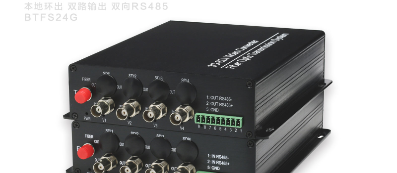 4路3GSDI光端机1