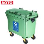 容量:660L 材质:HDPE