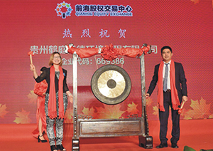 2017年7月,在深圳前海股权交易中心成功挂牌