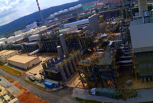 云南石化1000万吨油厂防雷产品应用