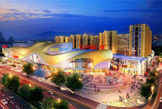 桂林万达广场电源防雷产品应用