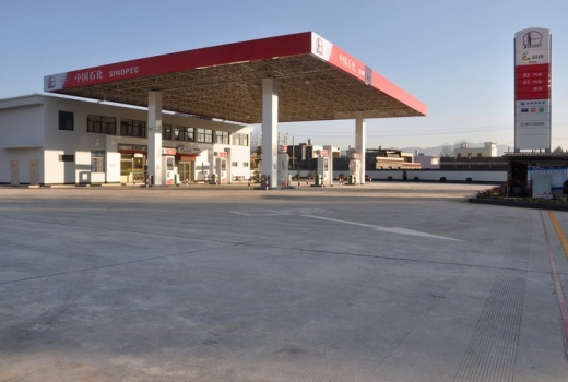 中国石化广西贵港20座加油站防雷防静电改造工程、产品应用
