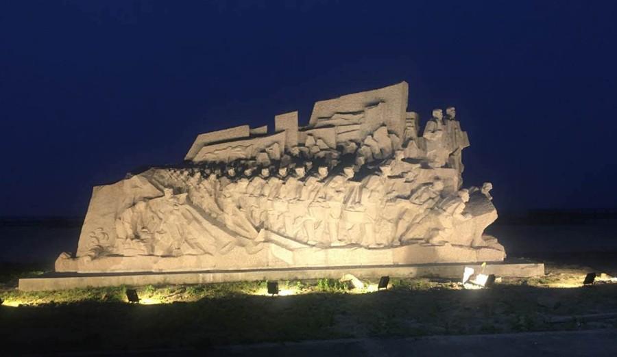 围涂赋 (夜景-左)