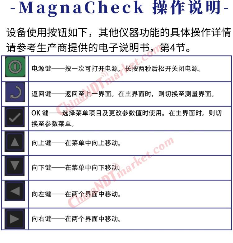 英国数字式磁场强度计MagnaCheck基础参数类别