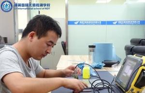 超声波检测焊缝时如何选择斜探头
