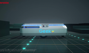 GEEK+仓储三维动画