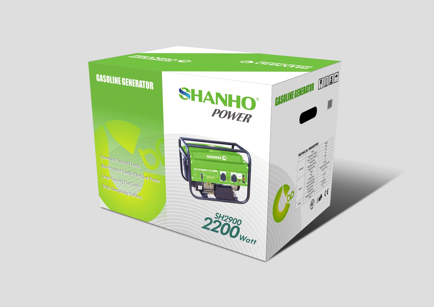山河发电机SH2900包装B