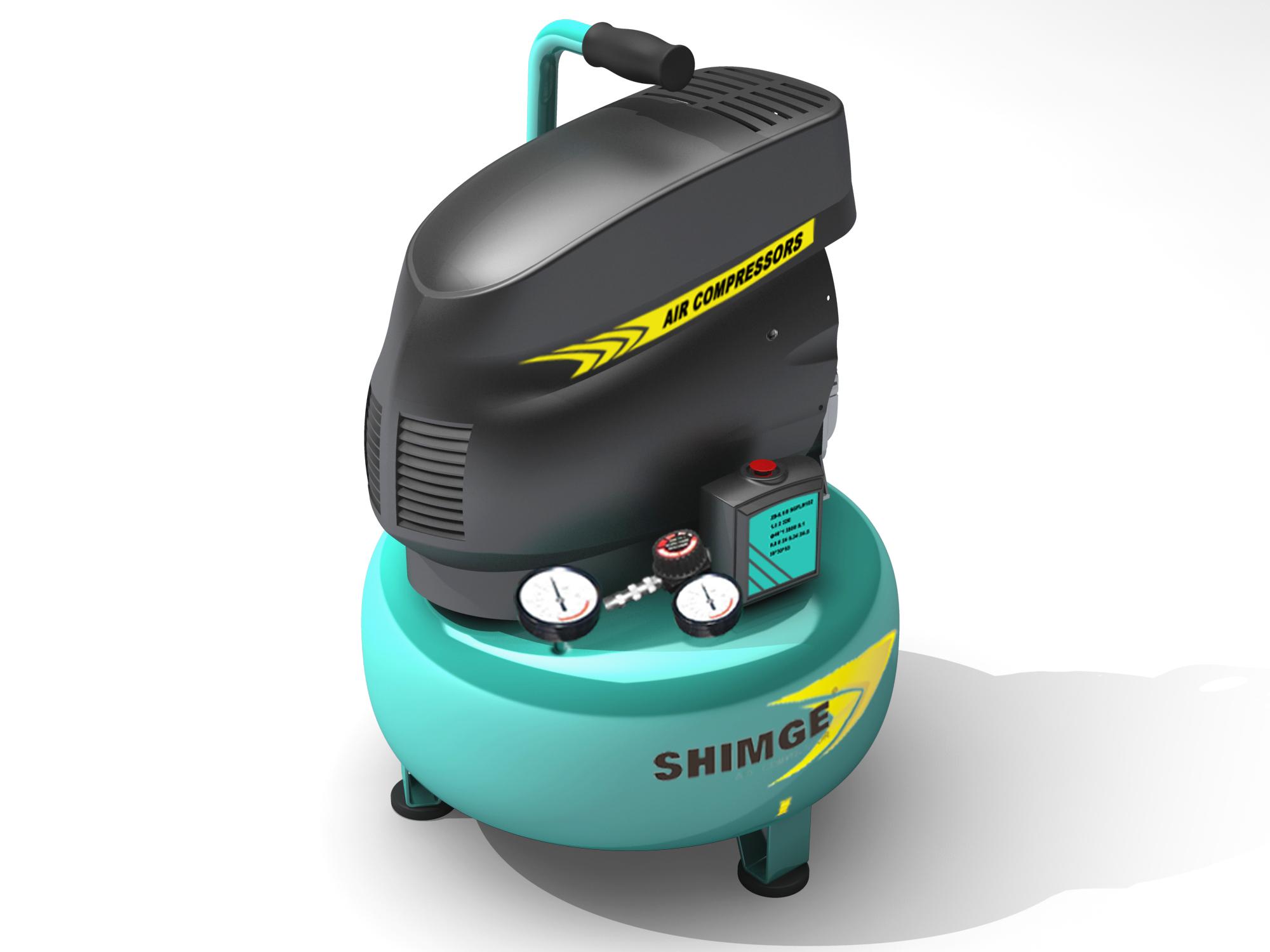 小型单罐空压机1